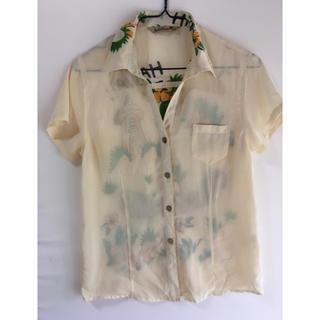 カルルワ(Kaluluwa)のKaluluwaアロハシャツ 透け感あり(シャツ/ブラウス(半袖/袖なし))