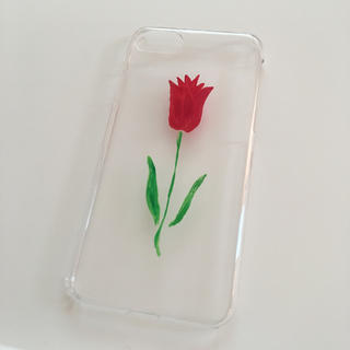 flower - iPhone 7 8 対応 ハードケース