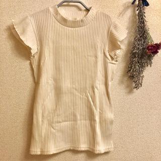 エージー(AG)の【送料込】ガーリー 袖レース Tシャツ(Tシャツ(半袖/袖なし))