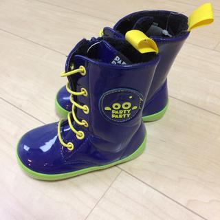8aa38eb51fc60 パーティーパーティー(PARTYPARTY)のPARTY PARTY レインブーツ☆16cm(長靴 レイン