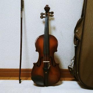 【証明ラベル有/ 刻印有】1/10 鈴木バイオリン スズキ Suzuki(ヴァイオリン)