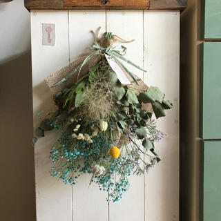 blue swag 季節のお花(ドライフラワー)
