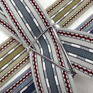 日本縫製 サスペンダー ベルギーゴム インポート ライン(サスペンダー)