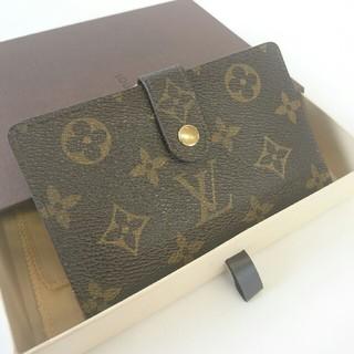 ルイヴィトン(LOUIS VUITTON)の☆Louis Vuitton☆ルイヴィトン☆がま口二つ折財布☆正規品☆(財布)