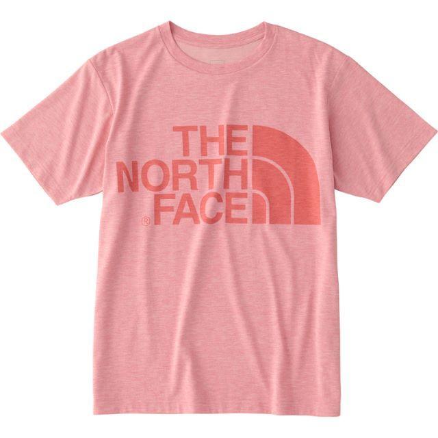9bf55b6563fde THE NORTH FACE(ザノースフェイス)のノースフェイス ショートスリーブカラーヘザーロゴ