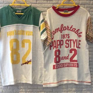 パプ(papp)のTシャツ 130cm(Tシャツ/カットソー)