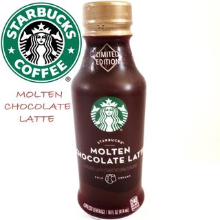 スターバックスコーヒー(Starbucks Coffee)の【日本未発売】スターバックス モルテンチョコレートラテ(コーヒー)
