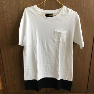 ナンバーナイン(NUMBER (N)INE)のナンバーナインデニム  ロング丈Tシャツ(Tシャツ/カットソー(半袖/袖なし))