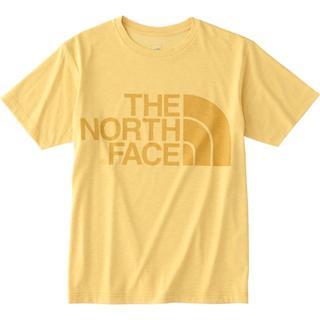 ザノースフェイス(THE NORTH FACE)のノースフェイス ショートスリーブカラーヘザーロゴティー ミックスイエローL(Tシャツ/カットソー(半袖/袖なし))