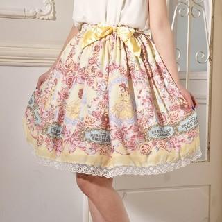 ディズニー(Disney)のスカート美女と野獣(ひざ丈スカート)