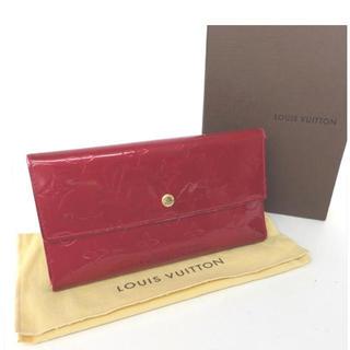 ルイヴィトン(LOUIS VUITTON)の❤ルイヴィトン❤長財布 財布 レディース 箱付き(財布)