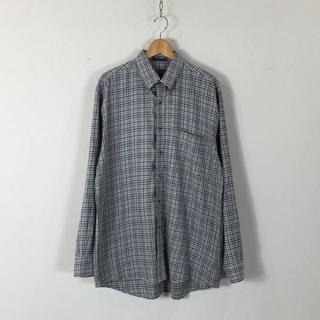 ペンドルトン(PENDLETON)のペンドルトン コットン シャツ チェック ブルー L USED 160722(シャツ)