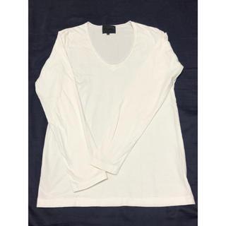 ノリコイケ(norikoike)のnorikoike BARNEYS NEW YOKE ロンT ホワイトS(Tシャツ/カットソー(七分/長袖))