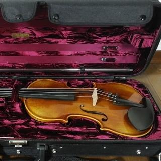 バイオリン ドイツ製 VG-9 高級弓・ケース付き(ヴァイオリン)