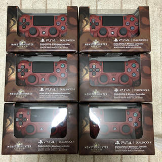 プレイステーション4(PlayStation4)の新品 モンスターハンター リオレウスエディション ワイヤレスコントローラ 6台(その他)