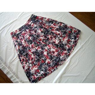 リフレクト(ReFLEcT)の難あり リフレクト 総柄シフォンスカート 9サイズ(ひざ丈スカート)