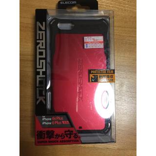 エレコム(ELECOM)のZEROSHOCK iPhone6plus用(iPhoneケース)