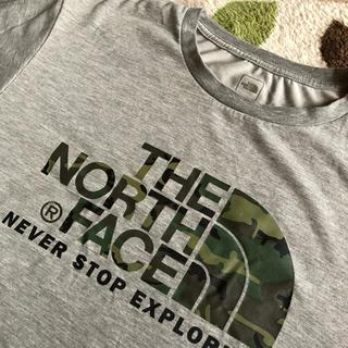 ザノースフェイス(THE NORTH FACE)のノースフェイス 迷彩 ロゴTシャツ(Tシャツ/カットソー(半袖/袖なし))