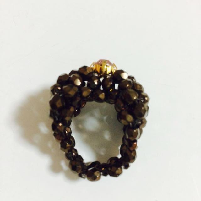 リボン 指輪 レディースのアクセサリー(リング(指輪))の商品写真