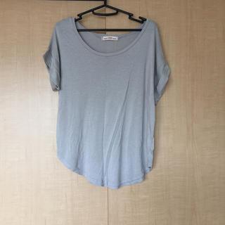 アンナケリー(Anna Kerry)のグレーTシャツ  レディース  トップス【M】(Tシャツ(半袖/袖なし))
