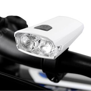 自転車 ロードバイク ライト USB充電 LED 小型 軽量 通常防水(パーツ)