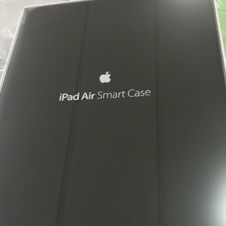 アップル(Apple)のipad air smart case ブラック apple 純正(iPadケース)