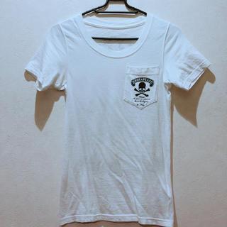 ロエン(Roen)のRoen ドクロ Tシャツ 白(Tシャツ(半袖/袖なし))