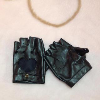 ワンスポ(one spo)の再々値下げ☆フェイクレザー手袋(手袋)