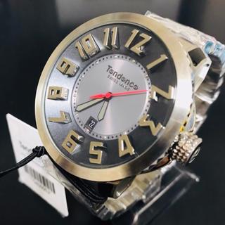 テンデンス(Tendence)のTendenceテンデンス メンズ スイス製 シルバー【定価 85000円】(腕時計(アナログ))