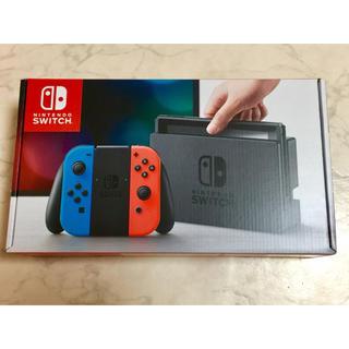 ニンテンドースイッチ(Nintendo Switch)の任天堂 スイッチネオン  新品(家庭用ゲーム本体)