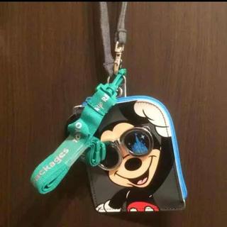 ディズニー(Disney)のミッキー パスケース(キャラクターグッズ)