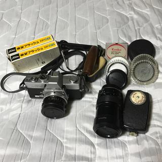 コニカミノルタ(KONICA MINOLTA)のMINOLTA ミノルタ SRT101 望遠レンズ オプションセット(フィルムカメラ)