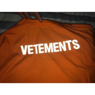 バレンシアガ(Balenciaga)のvetements リフレクターTシャツ(Tシャツ/カットソー(半袖/袖なし))