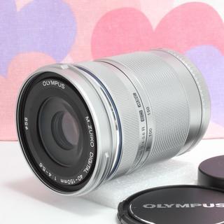 オリンパス(OLYMPUS)の☆人気のシルバー☆オリンパス望遠レンズ M.ZUIKO 40-150mm R(レンズ(ズーム))