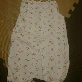 女児 袖無しカバーオール 80サイズ H&M(カバーオール)