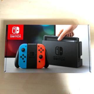 ニンテンドースイッチ(Nintendo Switch)の新品・未使用 ニンテンドースイッチ ネオン(家庭用ゲーム本体)