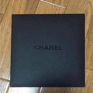 シャネル(CHANEL)の美品★CHANEL 封筒 ブラック(ショップ袋)