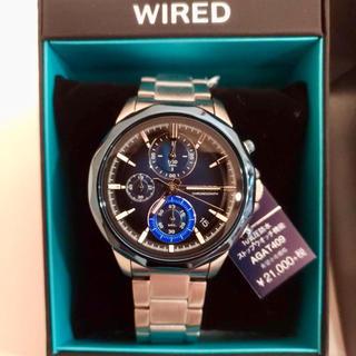 ワイアード(WIRED)の新品SEIKO WIRED (セイコーワイアード) メンズ腕時計 クロノグラフ(腕時計(アナログ))