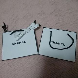 シャネル(CHANEL)のCHANEL☆ショッパー☆コスメ(ショップ袋)