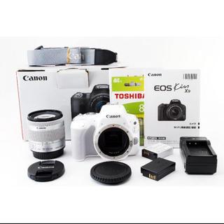 キヤノン(Canon)のCanon EOS KissX9 ホワイト(デジタル一眼)