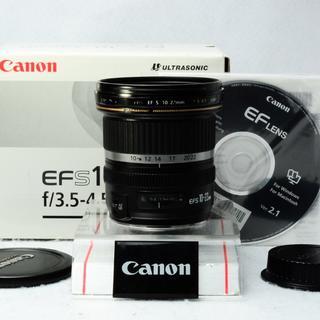 ★美品★CANON EF-S LENS 10-22mm F3.5-4.5 USM(レンズ(ズーム))