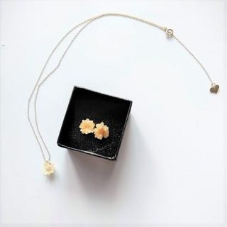 フラワー(flower)のネックレス、イヤリングセット(その他)