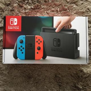 ニンテンドースイッチ(Nintendo Switch)の【新品・未使用】ニンテンドースイッチ 本体 任天堂(家庭用ゲーム本体)