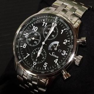 シン(SINN)のSinn 956  H30.5月OH済み 極美品(腕時計(アナログ))
