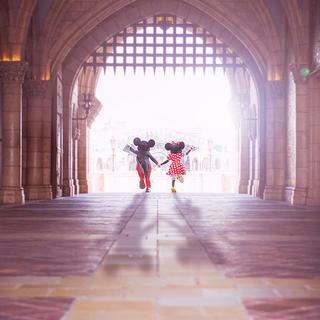 ディズニー(Disney)のミッキー&ミニー    メガネケース🎀(サングラス/メガネ)