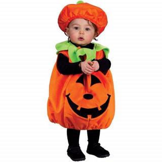 子供用 コスプレ かぼちゃ キッズ 可愛い パンプキン(衣装)