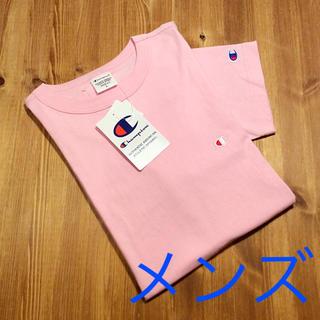 チャンピオン(Champion)の新品☆ 送料無料♪ チャンピオン ロゴ Tシャツ ピンク champion(Tシャツ/カットソー(半袖/袖なし))
