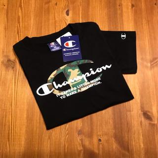チャンピオン(Champion)の新品 送料無料 チャンピオン カモフラ ロゴ Tシャツ 160 champion(Tシャツ(半袖/袖なし))