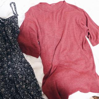 フラワー(flower)のvintage tee raspberrypink🍓(Tシャツ(半袖/袖なし))