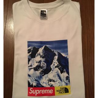 シュプリーム(Supreme)の❗️希少❗️17AW supreme×The North Face Tee(Tシャツ/カットソー(半袖/袖なし))